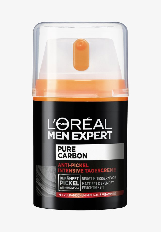 PURE CARBON VOLCAN MINERAL FACECARE - Gesichtscreme - -