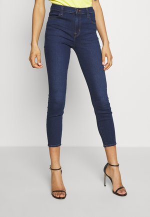 ALANA HIGH RISE CROPPED - Jeans Skinny Fit - moro