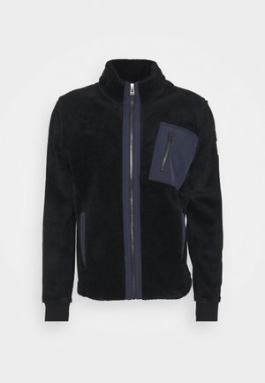 HERNE PILE - Fleece jacket - navy