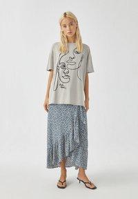 PULL&BEAR - T-Shirt print - off-white - 1
