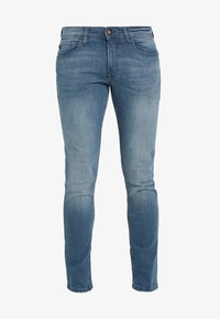 TOM TAILOR DENIM - CULVER  - Jeans Skinny Fit - blue grey denim - 4