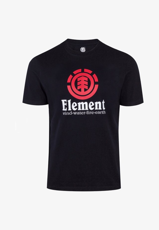VERTICAL - T-shirt imprimé - black