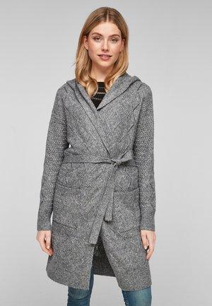 Cardigan - grey knit