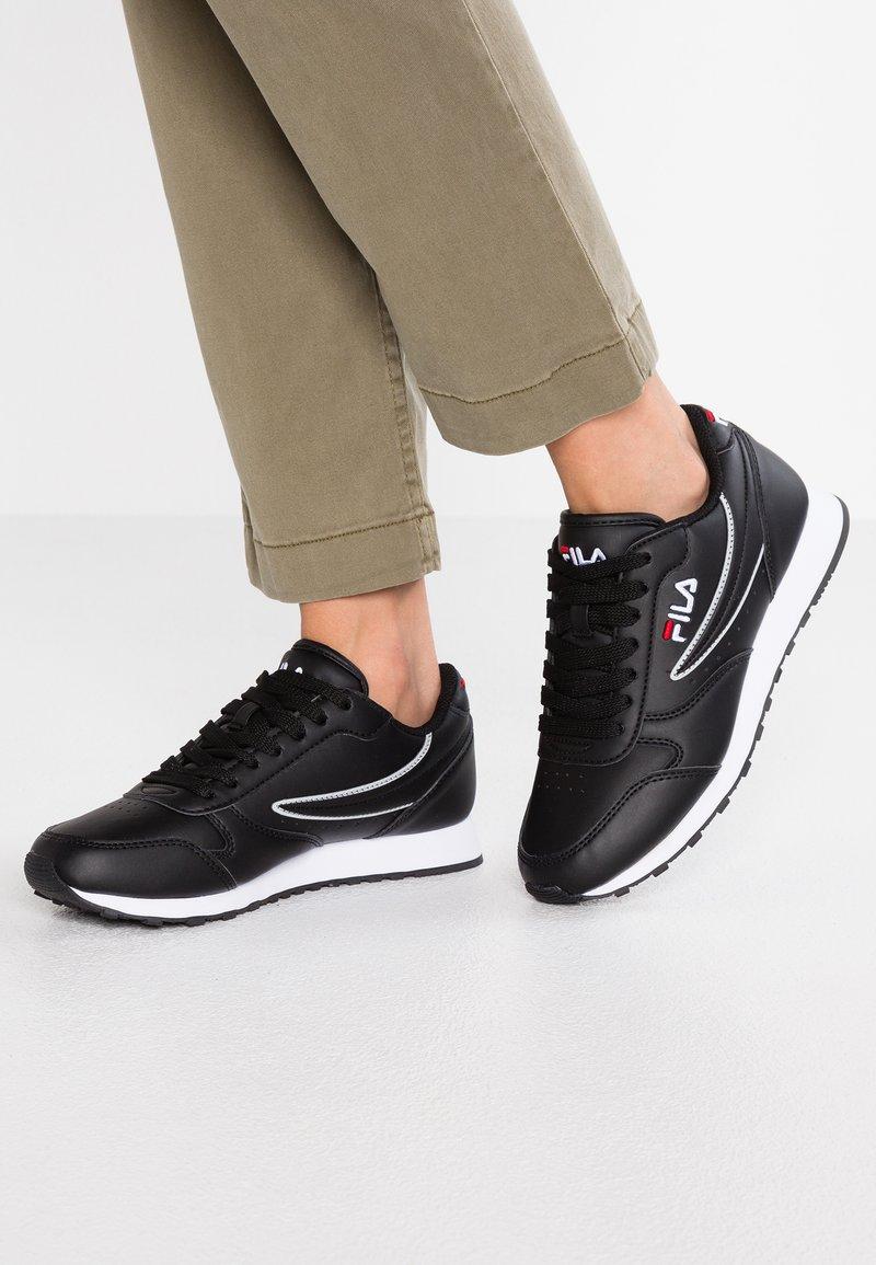 Fila - ORBIT - Sneakersy niskie - black