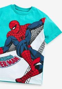 Next - spider man - Print T-shirt - teal - 2