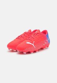 Puma - ULTRA 4.3 FG/AG JR UNISEX - Moulded stud football boots - sunblaze/white/bluemazing - 1