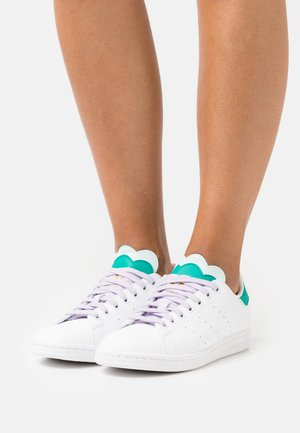 STAN SMITH  - Sneakers laag - footwear white/purple tint/halo mint