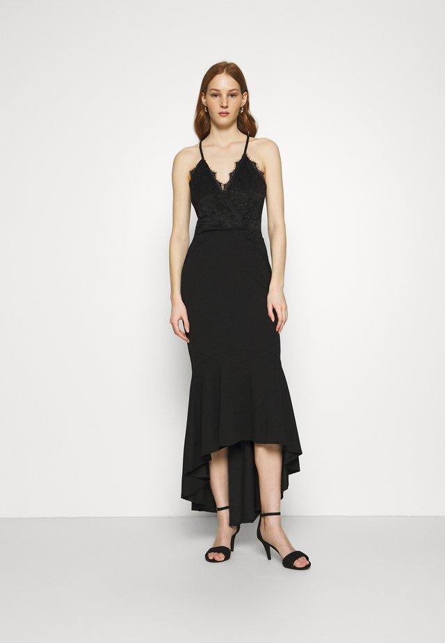 HARLOW FRILL HEM MAXI DRESS - Occasion wear - black