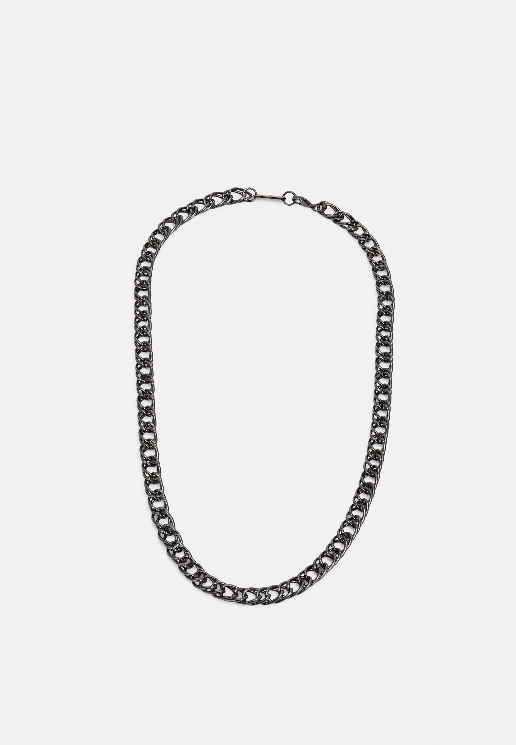 Hombre DECO NUANCE DOUBLE CURB CHAIN NECKLACE - Collar