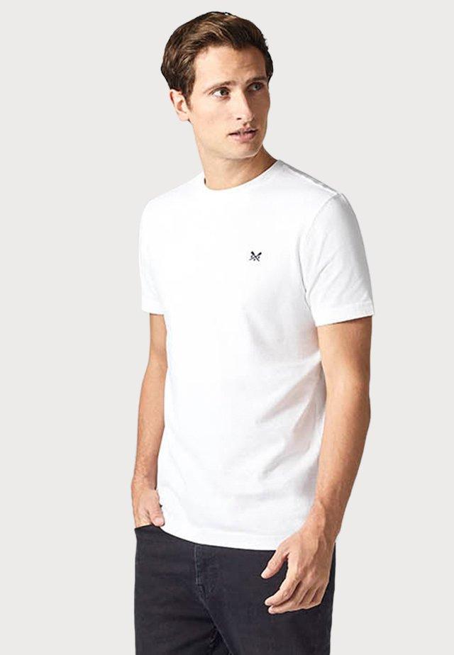 CREW CLOTHING MALE CREW CLASSIC - T-shirt basique - white