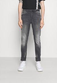 Blend - SCRATCHES - Slim fit jeans - denim grey - 0