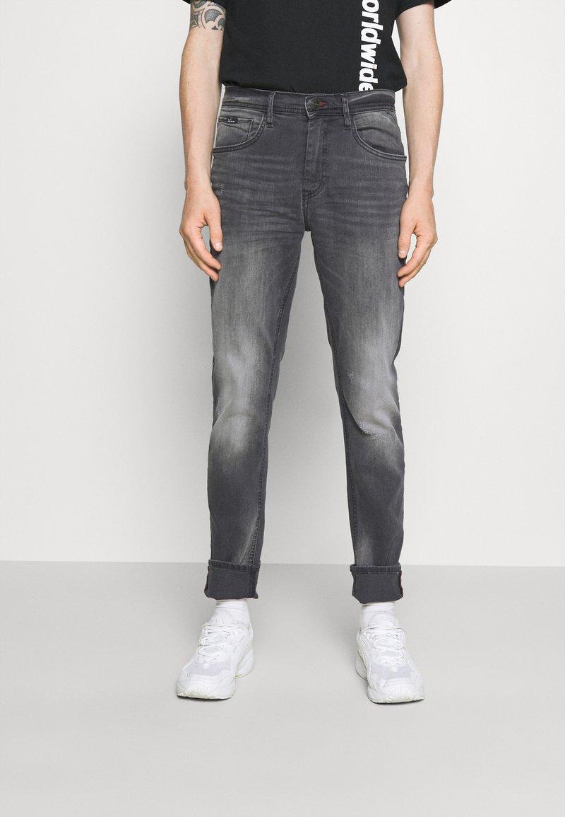 Blend - SCRATCHES - Slim fit jeans - denim grey