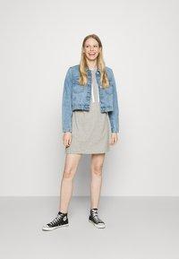 GAP - TALL DRESS - Sukienka z dżerseju - grey heather - 1