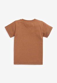 Next - Print T-shirt - brown - 1