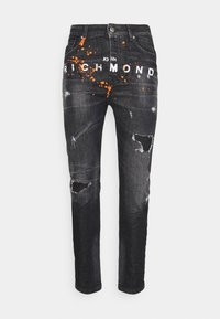 John Richmond - BALKIR MICK - Slim fit jeans - denim black - 5
