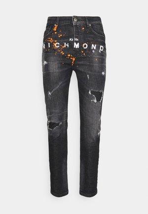 BALKIR MICK - Slim fit jeans - denim black