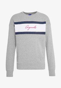 Jack & Jones - JORCUBO CREW NECK - Sweatshirt - light grey - 3