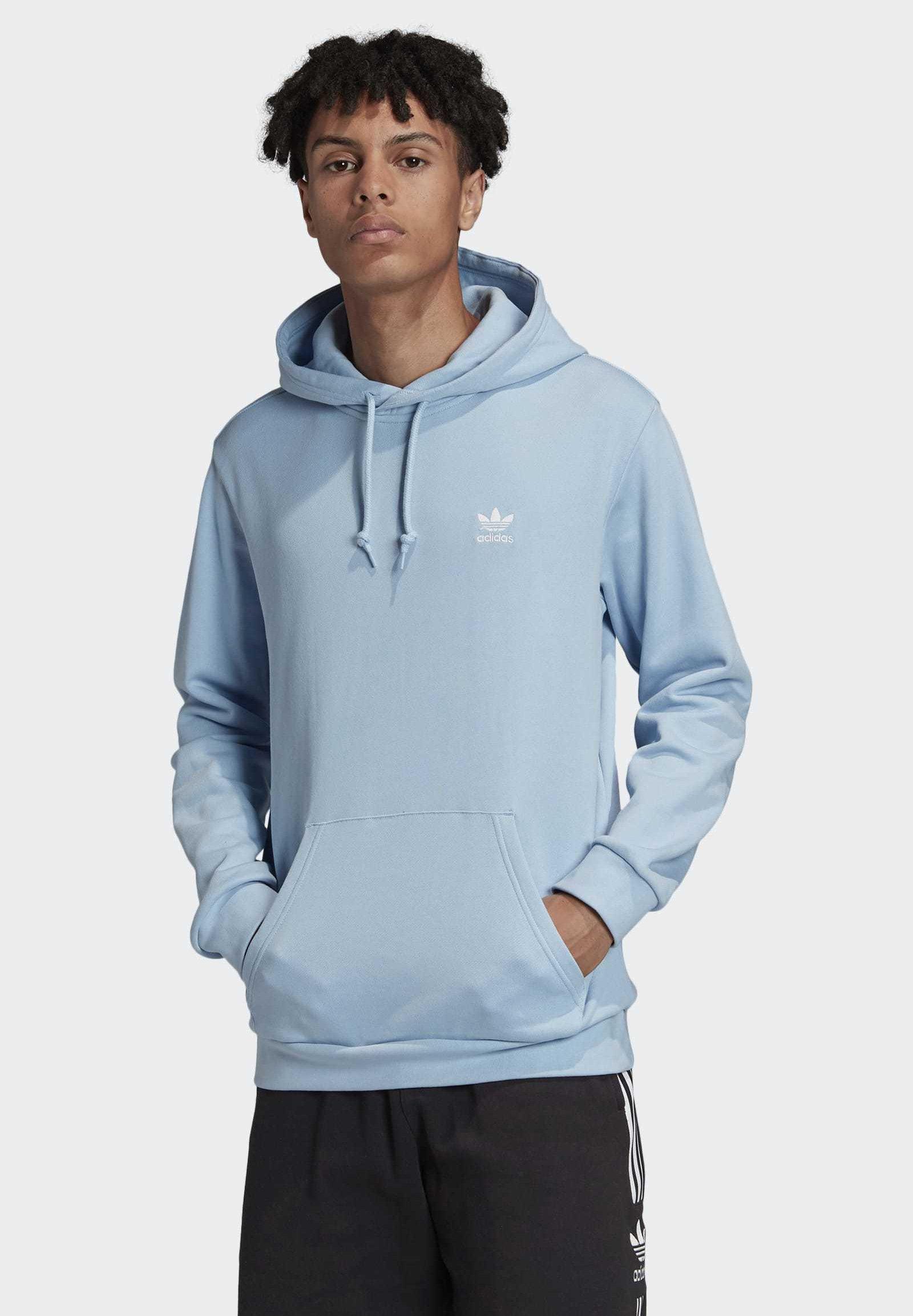 Furioso para ver Opaco  adidas Originals TREFOIL ESSENTIALS - Hoodie - blue - Zalando.de