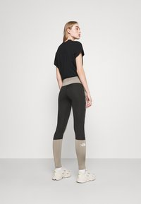 The North Face - TIGHT - Leggings - Trousers - mineral grey - 2