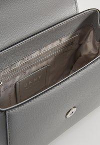DKNY - WHITNEY SATCHEL - Across body bag - grey melange - 4