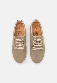 Pompeii - HIGBY ECO UNISEX - Sneakersy niskie - khaki - 3