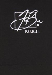 FUBU - SCRIPT HOODED - Sweatshirt - black - 6