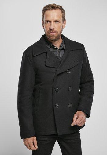 PEA COAT - Light jacket - black