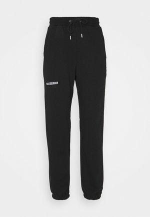 PANTS - Tracksuit bottoms - black