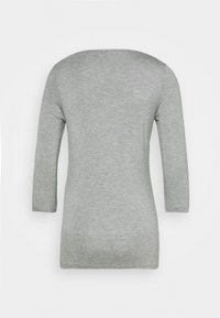 Tommy Hilfiger - BOAT NECK TEE 3/4 - Long sleeved top - grey - 7