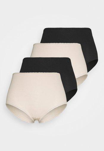 VALUE 4 PACK - Onderbroeken - black mix