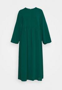 MIDI SMOCK - Maxi šaty - dark green
