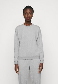 Vero Moda Tall - VMNATALIA SET  - Sweatshirt - light grey melange - 2