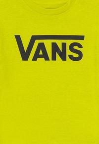 Vans - CLASSIC BOYS - Triko spotiskem - sulphur spring/black - 3