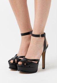ALDO - LACLA - High heeled sandals - black - 0