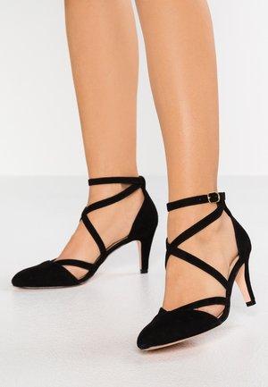 LEATHER - Classic heels - black