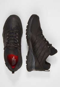 The North Face - HEDGEHOG HIKE GTX II - Hiking shoes - black/graphite - 1