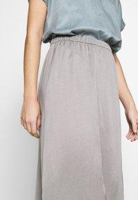 DRYKORN - RAHEL - A-line skirt - silver - 3