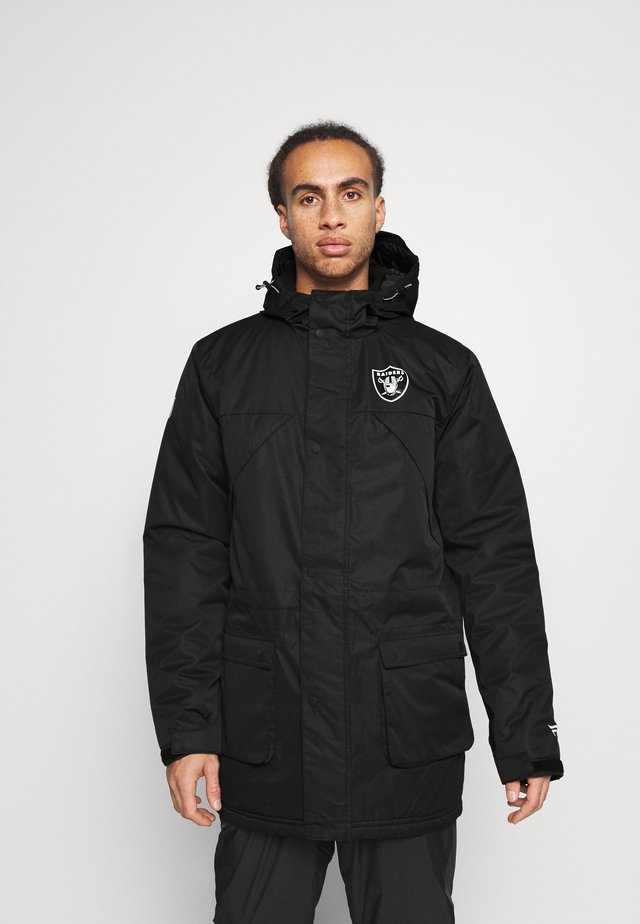 NFL OAKLAND RAIDERS ICONIC BACK TO BASICS HEAVYWEIGHT JACKET - Trainingsjacke - black
