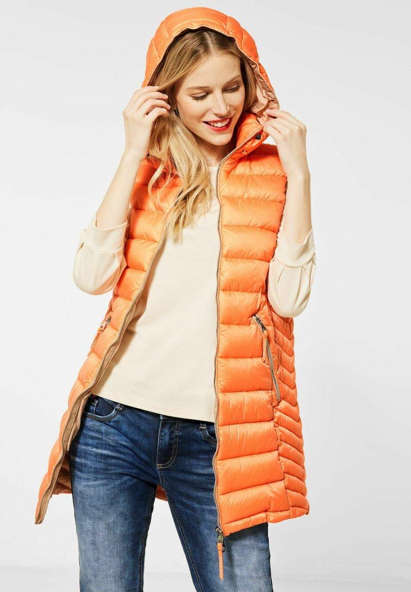 Street One - Waistcoat - orange