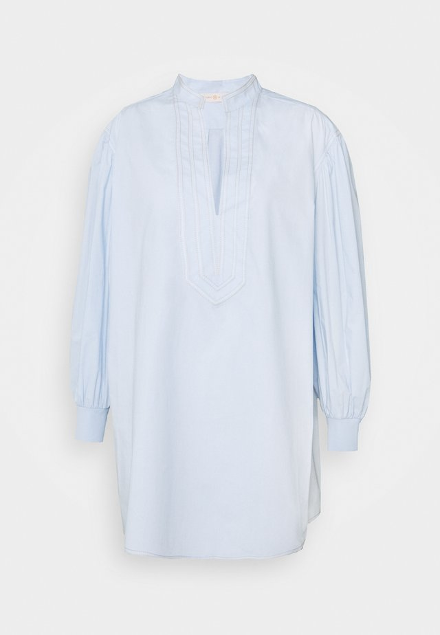 PUFFED SLEEVE - Tunic - crisp blue