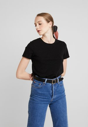 T-shirts print - black/black