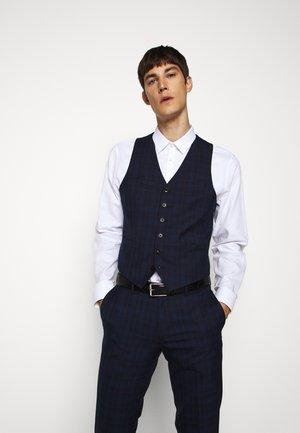 WOLMER - Waistcoat - dark blue