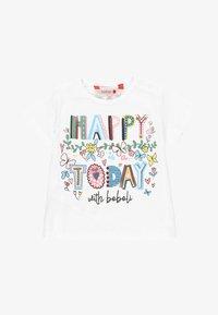 Boboli - Print T-shirt - white - 0