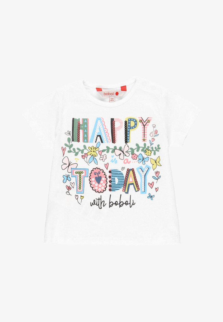 Boboli - Print T-shirt - white