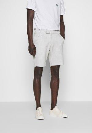 COMO LIGHT PINSTRIPE - Shorts - grey melange/off white