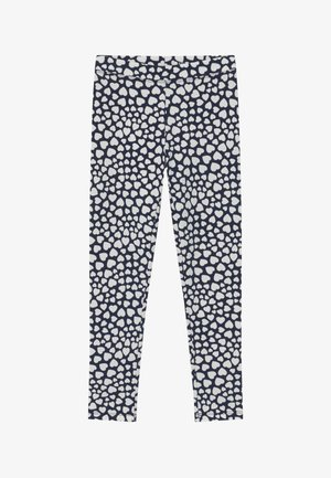 HEARTS  - Leggings - Trousers - navy ivory