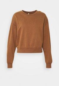 ONLLUCINDA LIFE SHORT STAR BOX - Sweatshirt - cappuccino