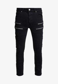 Brave Soul - LORTON - Jeans Skinny Fit - charcoal wash - 3