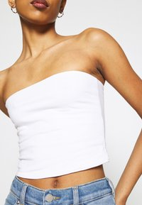 Hollister Co. - REVERSIBLE TUBE - Top - white - 5