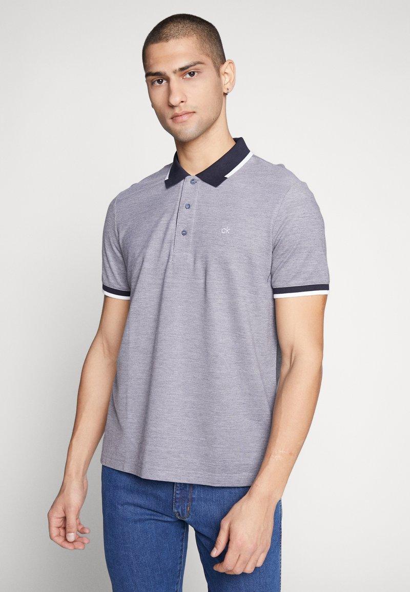 Calvin Klein - OXFORD - Polo shirt - blue